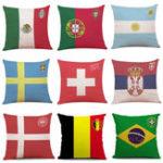Оригинал Кубок мира по футболу 2018 года на домашнем обмундировании Чехол Футбольные наволочки для дома для спальни