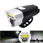 Оригинал XANESDL14245LMCOB/XM-L T6 Бусины 6 Режимы Bike Light Водонепроницаемы USB Зарядка переднего фонаря велосипеда
