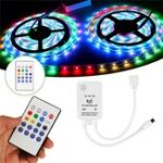 Оригинал DC5-24V Mini Wireless Controller Music Remote Control for RGB RGBW LED Strip Light