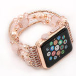 Оригинал Кристалл Браслет Часы Стандарты Ремень для Apple Watch iWatch Серия 3 2 1