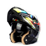 Оригинал LVCOOL Полное лицо мотоцикл Шлем ABS Shell Motorcross Racing Helmet Dual Объектив