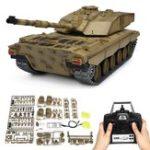 Оригинал Henglong3908-11/162.4GКурениеБританский Challenger 2II RC Авто Battle Tank Metal Gearbox Toys