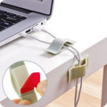 Оригинал Bakeey 6 PCS Sticky Cable Clip Desktop Наушник Провод Держатель для кабеля Органайзер