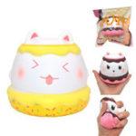 Оригинал Kiibru Meow Puffs Squishy 11cm Медленный рост с подарком коллекции упаковки Soft Toy