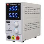 Оригинал 220 В постоянного тока Стабилизированный источник напряжения Переключаемый переключатель 30В 5A Цифровой Дисплей Источник постоянного тока