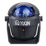 Оригинал Marine Лодка Регулируемая магнитная подсветка Compass Surface Dashboard Mount Mount Mount Mount