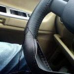 Оригинал 38смКожаPUDIYАвтоЧехлы на рулевом колесе с иглой и резьбой Four Seasons Universal