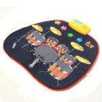 Оригинал Полы Playmat детский электронный барабан Портативный Набор Музыкальная игрушка Educatin
