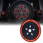 Оригинал DC12VЗадняяшиназаднегоколеса красный LED Тормозные огни для Jeep JK 2007-2017