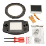 Оригинал 42Pin 32Pin Backlit AGS-101 Upgrade Изменить Инструмент Чехол комплект для игровой консоли Nintendo Gameboy Advance