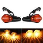 Оригинал Пара 12В Очистить / Янтарный / Дым мотоцикл Поверните сигнальный свет для Kawasaki Ninja EX250 / 250R 88-12