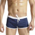 Оригинал Мужская спортивная сетка Wicking Loose Breathable Home Boxer Shorts