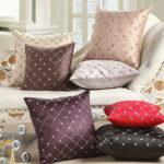 Оригинал Главная Диван-кровать Декор Разноцветные пледы Бросить подушку Чехол Квадратная подушка для дивана-кровати