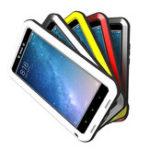 Оригинал LOVEMEIВодонепроницаемыУдаропрочныйтрехкомпонентныйалюминиевый телефон с полным корпусом Чехол Для Xiaomi Mi MAX2