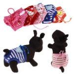 Оригинал Женщина Pet Собака одежда Pet Puppy Хлопок Затянуть ремешок Трусы Санитарные Собака Белье Pet Брюки