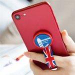 Оригинал ROCK Сплетенный Sticky Finger Ring Держатель Телефон подставка для iPhone Xiaomi Мобильный телефон