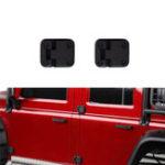 Оригинал 2PCS Черный Пластик Авто Дверной шарнир для 1/10 RC Crawler Traxxas TRX-4