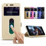 Оригинал BakeeyДвойноеокноFlipМагнитныеКожа PU Полное тело защитный телефон Чехол Для OnePlus 5T