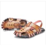 Оригинал  MEN's beach sandals Summer slippers Soft  flat-bottomed slippers Microfiber shoe size 6.5-11.5