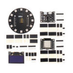 Оригинал Wemos® X-8266 ESP-WROOM-02/ESP32 Rev1 WiFi Bluetooth Модуль + X-Battery Shield + 1,3 дюймов OLED + X-Ring RGB WS2812b