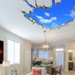 Оригинал Miico3DТворческийПВХстенынаклейки Home Decor Mural Art Removable Sky Пейзаж стены наклейки