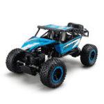 Оригинал JJRCQ151/142.4G4WDГонки RC Авто Рок-гусеничный 4×4 Водительские самосвалы Внедорожные игрушки для автомобилей
