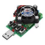 Оригинал Регулируемый 15-ти разрядный резистор нагрузки USB Электронный измеритель емкости для разрядки постоянного тока Вольтметр постоянного тока