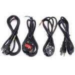 Оригинал 1.2M EU US UK AU Кабель адаптера питания Провод для LED Газовый свет