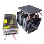 Оригинал XD-6028 12V 10A Полупроводниковое охлаждающее оборудование DIY Холодильник Высокоэффективная система радиатора Маленький электронный кулер с бл
