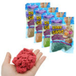 Оригинал DIY Волшебный Colorful играть Песок ручной глины динамический подарок Amazing закрытый Волшебный Toy