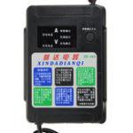 Оригинал 12V / 24V 10A 220W Батарея Зарядное устройство LCD Дисплей Интеллектуальное зарядное электрическое автоматическое Тип