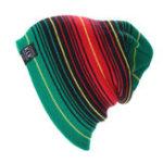 Оригинал Unisex Stripe Warm Knitted Causal На открытом воздухе Шерсть Шапка