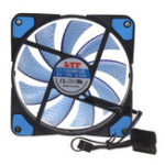 Оригинал Miner Mining Fan Mining Machine Fan 15 Lamps 12cm 4Pin CPU Cooling fans