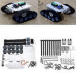 Оригинал DIY TP300 Silver Дистанционное Управление Шасси с шасси Smart Robot Авто Набор