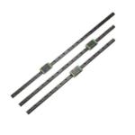 Оригинал Черный450мм/500мм / 550 мм MGN12 Линейный направляющий линейный направляющий рельс с MGN12H Линейный блок CNC Инструмент