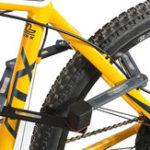 Оригинал ABUS U Grip Bordo 5700 Складной велосипед Замок с 2 ключами 80CM Длина Стальная защита от кражи