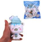 Оригинал Yummiibear Polar Bear Squishy 14cm Медленный рост с подарком коллекции упаковки Soft Игрушка