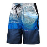 Оригинал Mens Quick Drying Fashion Printing Summer Пляжный Casual Short