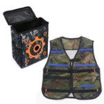 Оригинал Worker Storage Target Сумка И 1шт Регулируемая синяя жилетница для NERF N-Strike Новинки Игрушки