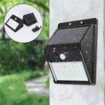 Оригинал 28 LED Солнечная Свет PIR Движение Датчик Водонепроницаемы Настенный светильник Отдельный прожектор На открытом воздухе Сад Лампа