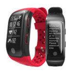 Оригинал Bakeey S908 Activity Tracker Сердце Оценить Монитор Шагомер Smart Bracelet