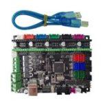 Оригинал MKS-GEN L V1.0 Интегрированный контроллер для материнских плат, совместимый с Ramps1.4 / Mega2560 R3 Для 3D-принтеров