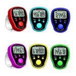Оригинал Мини-стежка Маркер Row Finger Counter LCD Дисплей Электронный цифровой счетчик