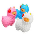 Оригинал Jumbo Sheep 17cm Squishy Alpaca Super Slow Rising Cream Ароматические забавные игрушки