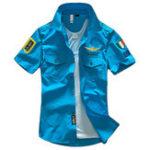 Оригинал АКТЕРИСТИКИ Эмблемы для вышивки Военный Рубашки мужские рабочие