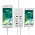 Оригинал Универсальная AC 100-240V 10-портовая USB-зарядная станция для планшета Смартфон