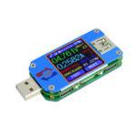 Оригинал RUIDENGUM25C/UM25USB2.0 Type-C Цвет LCD Тестер Напряжение Токовый измеритель Вольтметр Амперметр Батарея Сопротивление измерения заряда