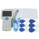 Оригинал 10 Частота RFID Копировать Зашифрованный NFC Smart ID IC Card Reader Writer с 12шт Keyfbobs