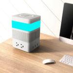 Оригинал FreeCubeSmartModularDIYНаборс Bluetooth Динамик LED Жест Датчик Легкое беспроводное зарядное устройство Power Strip с 4 портами переменныйто
