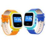 Оригинал ENOCH Q60 Дети GPS трекер Сим-карты С шагомер SMS Voice Chat SOS Alarm Smart Watch